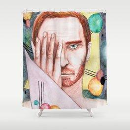 Demiurgo Shower Curtain
