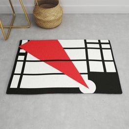 Lissitzky & Mondrian Rug