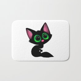 Cute Cartoon Cat Bath Mat