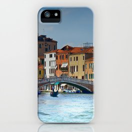 Venice Italy Canal Houses iPhone Case