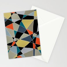 triangles pattern 002 Stationery Cards