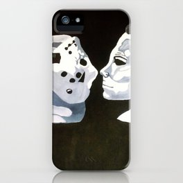 Vorhees Vs. Meyers iPhone Case