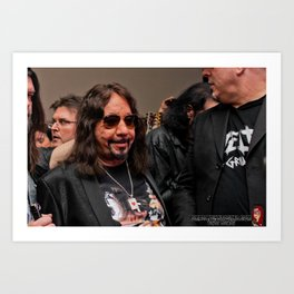 Ace Frehley May 2018 Art Print