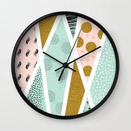 Abstract festive Wall Clock