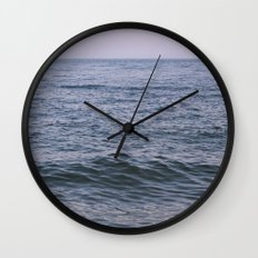 Hazy Day Wall Clock