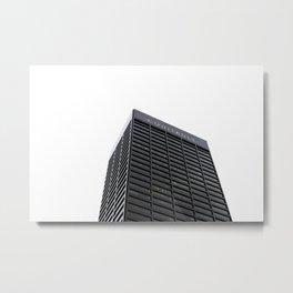 Atlanta Staple Metal Print