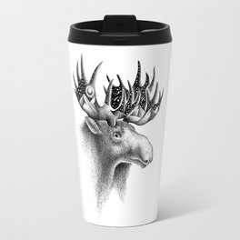 THE MOOSE AND THE MOON Travel Mug