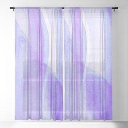 Blue Lagos Sheer Curtain