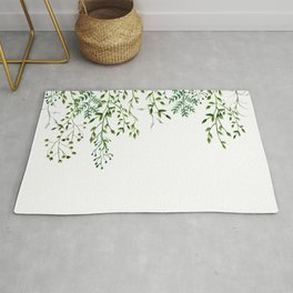 Watercolor Vines Rug