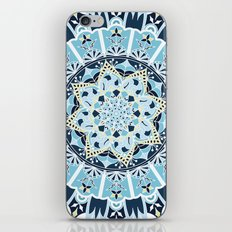 Flowers mandala iPhone & iPod Skin