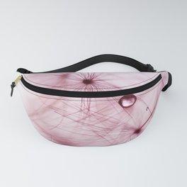 dandelion pink Fanny Pack