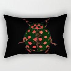 Insecte rouge et noir colors fashion Jacob's Paris Rectangular Pillow