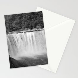 Cumberland Falls in Black and White Stationery Cards