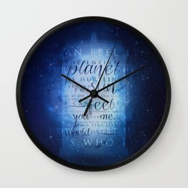 That's who I am | Doctor Who Wall Clock