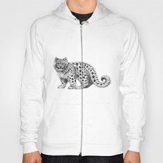 Snow Leopard cub g142 Hoody