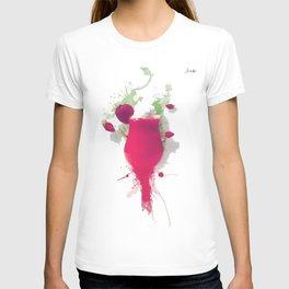 Sorbet fraises chantilly painting colors fashion Jacob's Paris T-shirt