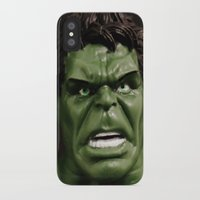 hulk iPhone & iPod Cases featuring Hulk by Beastie Toyz