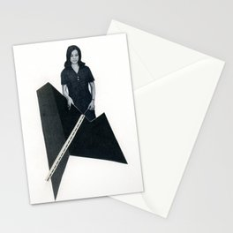 this modern world Stationery Cards