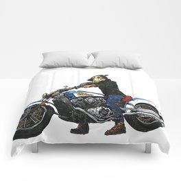 Horseman #4 Comforters