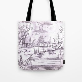 Gone Fishin' 1 Tote Bag