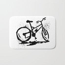Rest bike Bath Mat