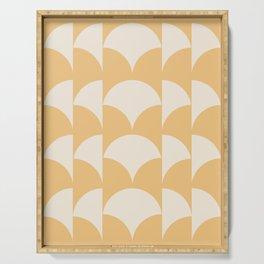 Cleo Pattern - Sunrise Serving Tray