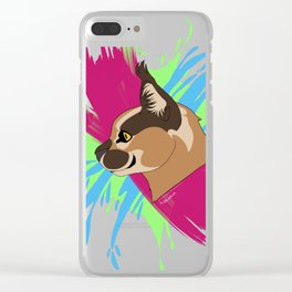 Caracal. Clear iPhone Case