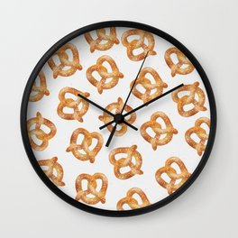 These pretzels are making me thirsty Wall Clock