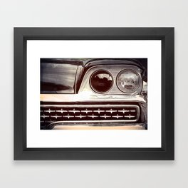 Rebel // Classic Car Framed Art Print