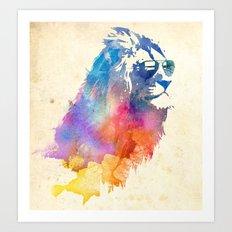 Sunny Leo   Art Print