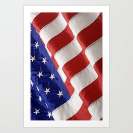 Old Glory Art Print
