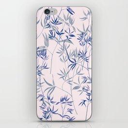 exotic blue iPhone Skin