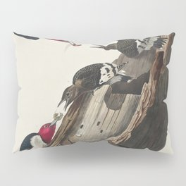 Red-headed Woodpecker from Birds of America (1827) by John James Audubon etched by William Home Liza Pillow Sham