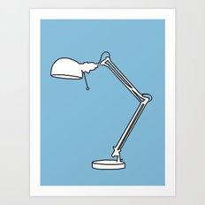 Lamp, 2013. Art Print