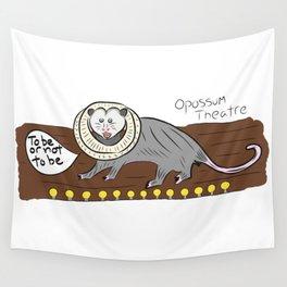 Opossum Theatre Wall Tapestry