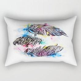 Koru Feathers  Rectangular Pillow