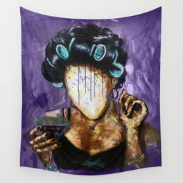 Undressed X PURPLE Wall Tapestry