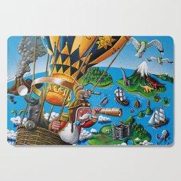 The Balloon Adventure Cutting Board