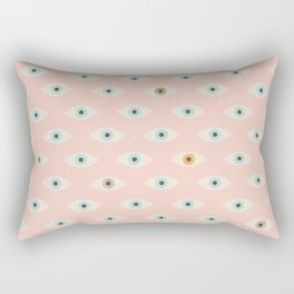 Thousand Eyes Rectangular Pillow