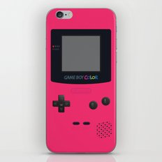 GAMEBOY Color - Pink Version iPhone & iPod Skin