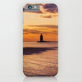 Cape Henlopen at Sunset Coastal / Beach / Nautical Landscape Photograph iPhone Case