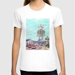 Robot in Town T-shirt