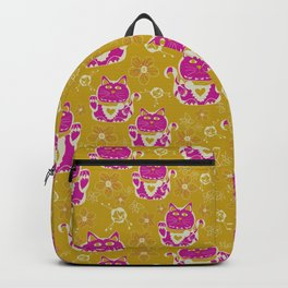 Oriental happy lucky cats Backpack