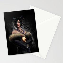 Final Fantasy X Lulu Painting Portrait Stationery Cards