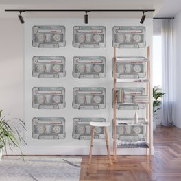 Cassette Tapes Wall Mural