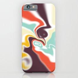 Liquid shapes iPhone Case