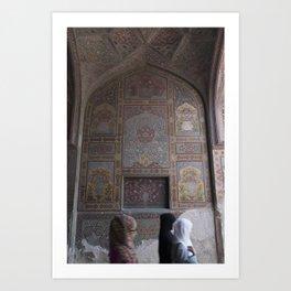 Masjid Wazir Khan Art Print