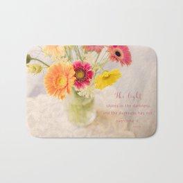 Summer Floral* Bath Mat