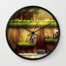 Contra Wall Clock