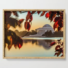 Jefferson in Autumn Serving Tray